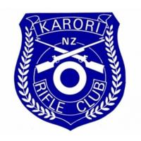 Karori Rifle Club Crest blue